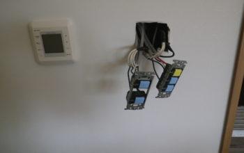配線器具の取付