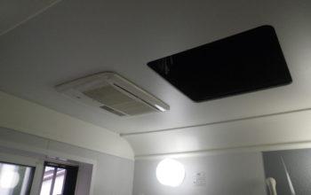 浴室暖房換気扇の設置